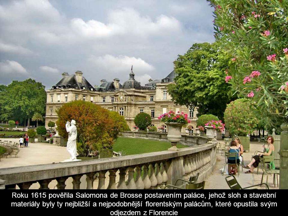 A tak roku 1612 koupila od vévody Františka Lucemburského tehdejší sídlo i s pozemkem