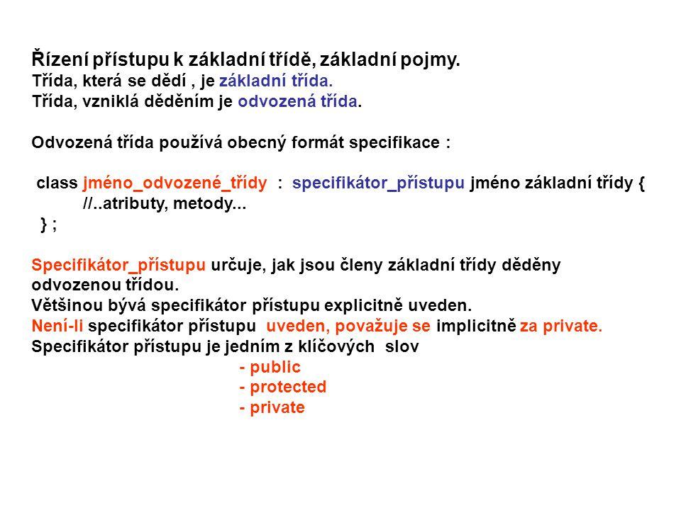 7.2 Zavedení CHRÁNĚNÝCH ČLENŮ, přístup protected.