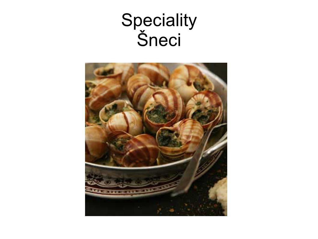 Speciality Šneci