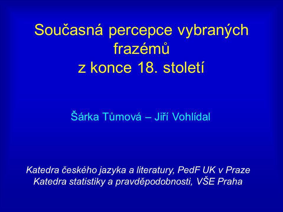 Obsah 1.Úvod 2. Rozhovory, o české literatuře 3. Cvičení překladu 4.