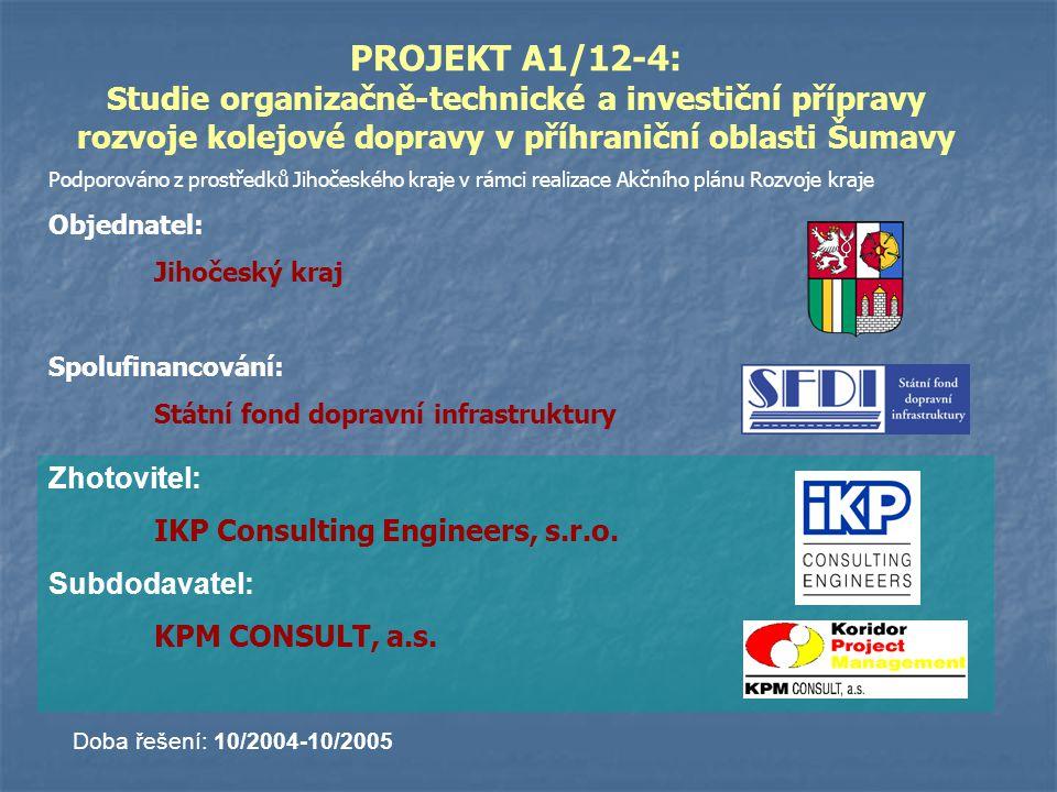 Etapa Investiční akce IAxyzSpecifikaceTrať I.