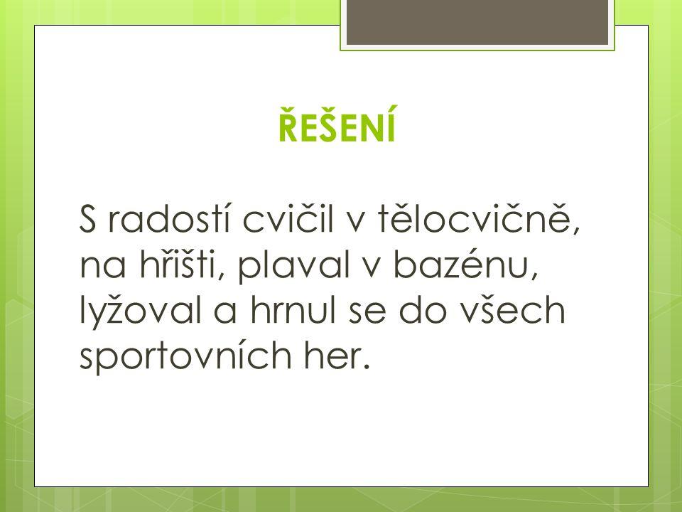 Citace: Text: Sportování- Dyslexie, str.18, str.