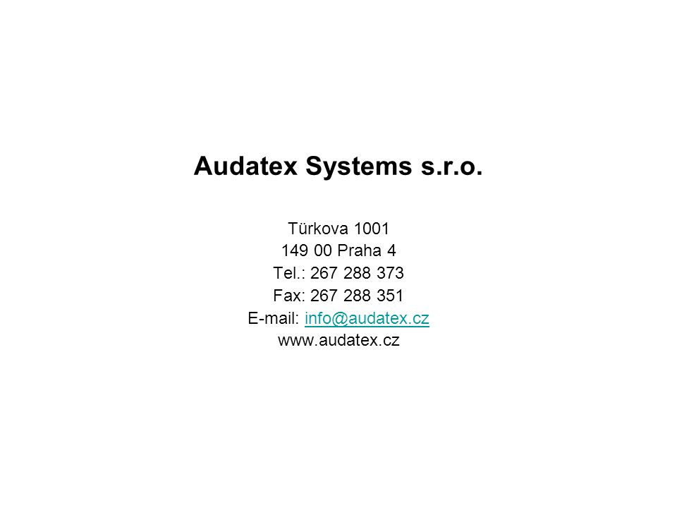 Audatex Systems s.r.o.