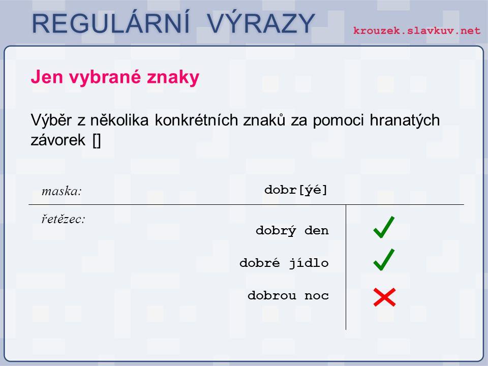 Ve druhém parametru určujícím nahrazovaný řetězec lze použít metaznak \\číslice určující podvýraz regulárního výrazu.