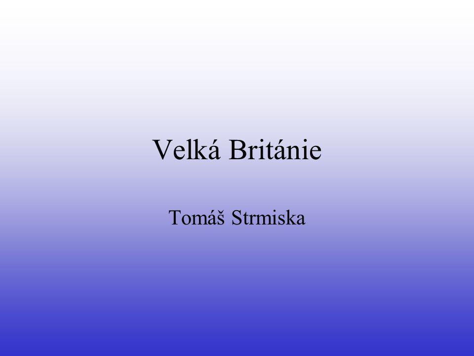 Velká Británie Tomáš Strmiska