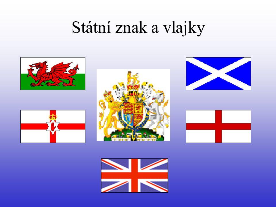 Státní znak a vlajky
