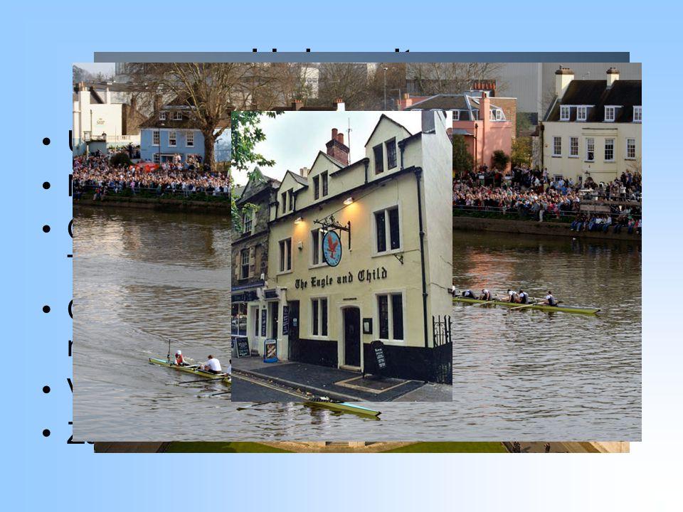 Univerzity Univerzitní města Oxford a Cambridge Nejdůležitější evropské univerzity Oxford – Innings (C.S.