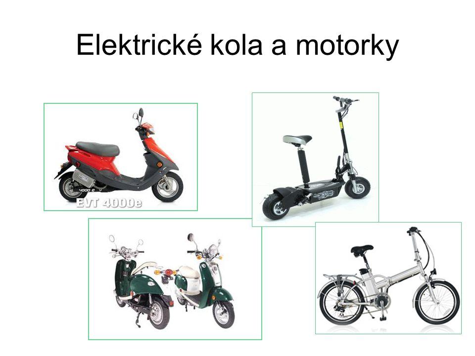 Elektrické kola a motorky