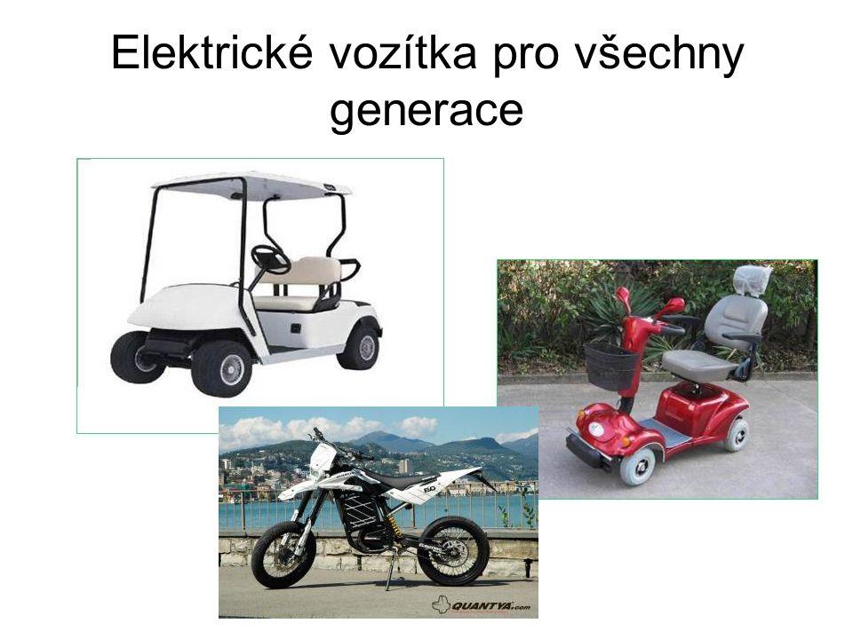 Elektrické vozítka pro všechny generace