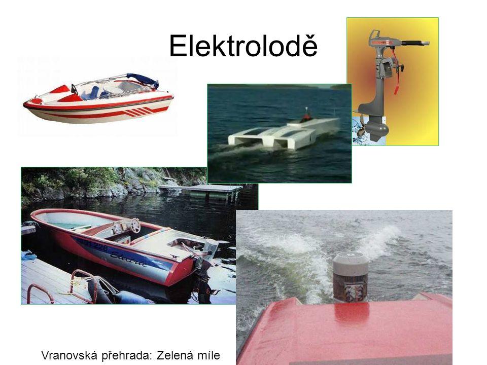 Elektrolodě Vranovská přehrada: Zelená míle