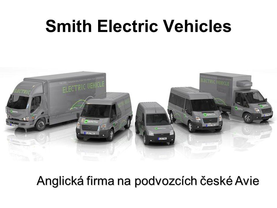 Smith Electric Vehicles Anglická firma na podvozcích české Avie