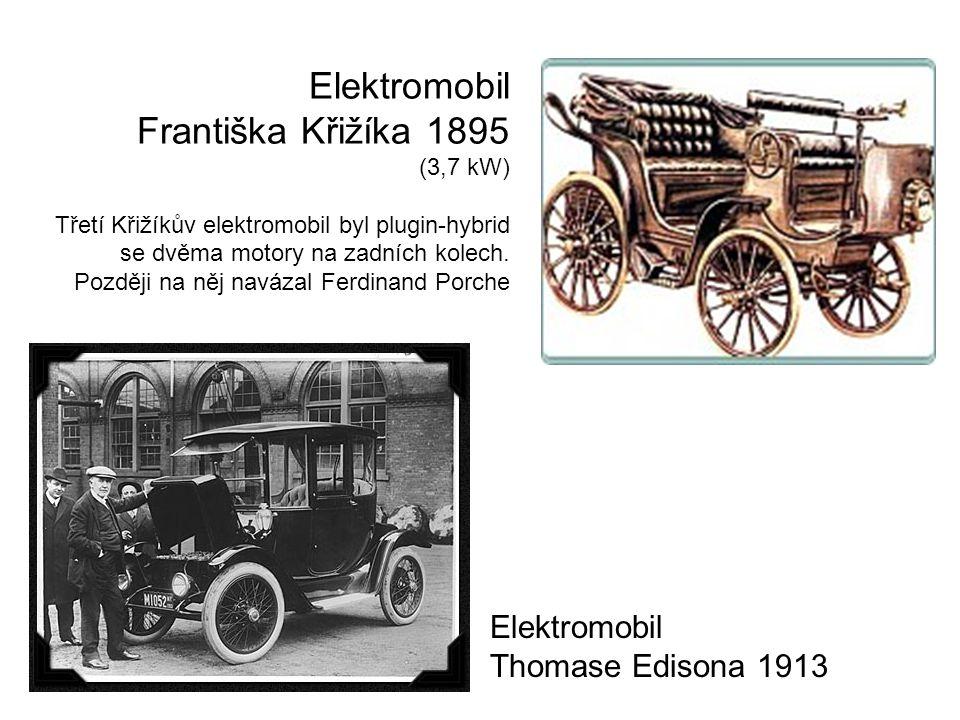 Překonání 100 km/h před 110 lety 17 ledna 1899 Belgičan Camille Jenatzy elektromobilem Jamais Contente (Nikdy spokojená) překonal jako první vozidlo na světě 100km/h