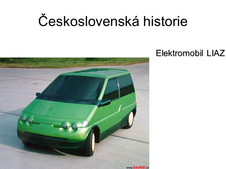 Československá historie Elektromobil LIAZ