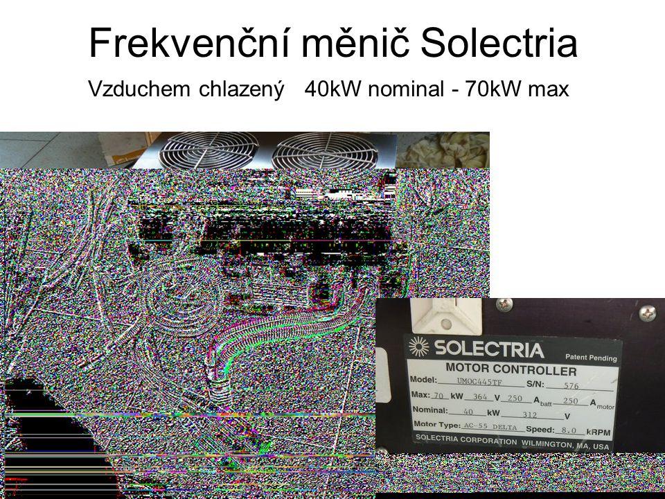 Frekvenční měnič Solectria Vzduchem chlazený 40kW nominal - 70kW max