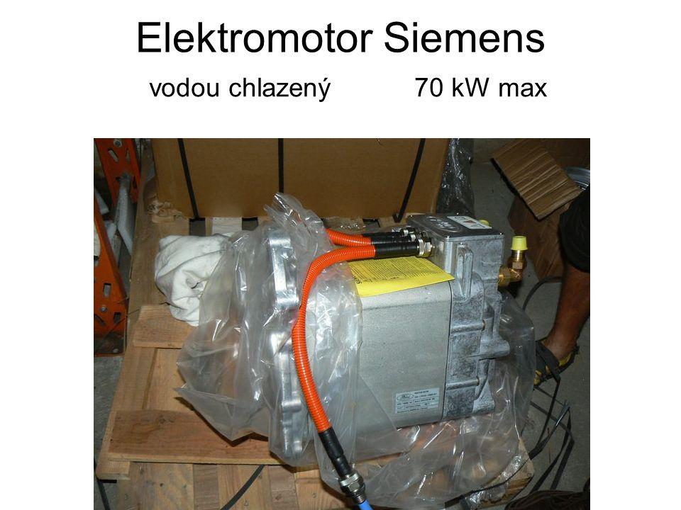 Elektromotor Siemens vodou chlazený 70 kW max