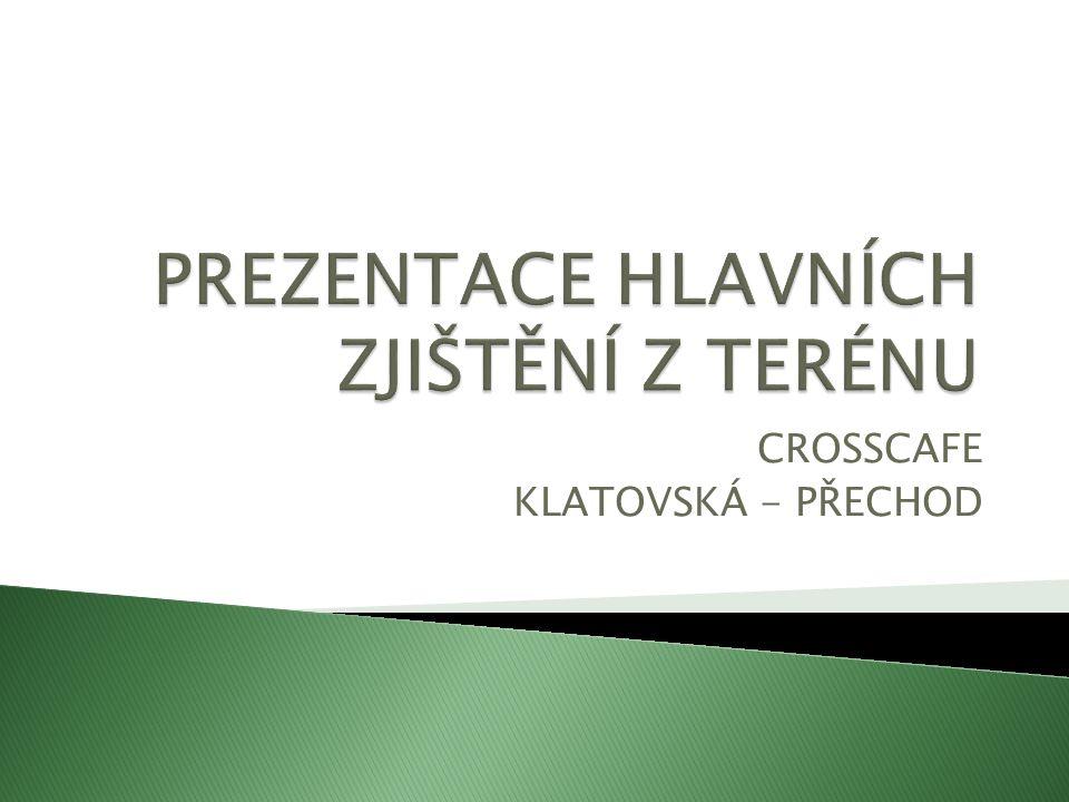 CROSSCAFE KLATOVSKÁ - PŘECHOD