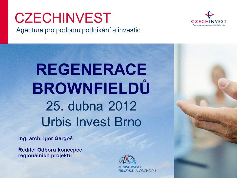 Národní databáze brownfieldů www.brownfieldy.cz