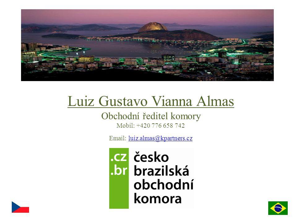 Luiz Gustavo Vianna Almas Obchodní ředitel komory Mobil: +420 776 658 742 Email: luiz.almas@kpartners.czluiz.almas@kpartners.cz