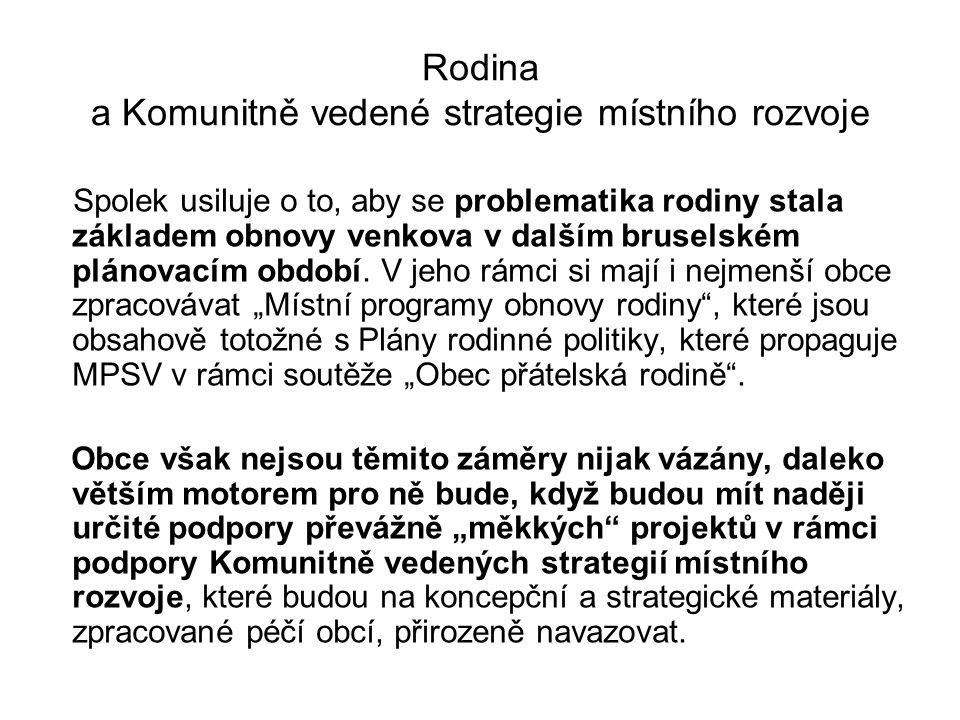 Publikace Obec a rodina Zájem o spolupráci na publikaci z mailem oslovených obcí do 25 tis.
