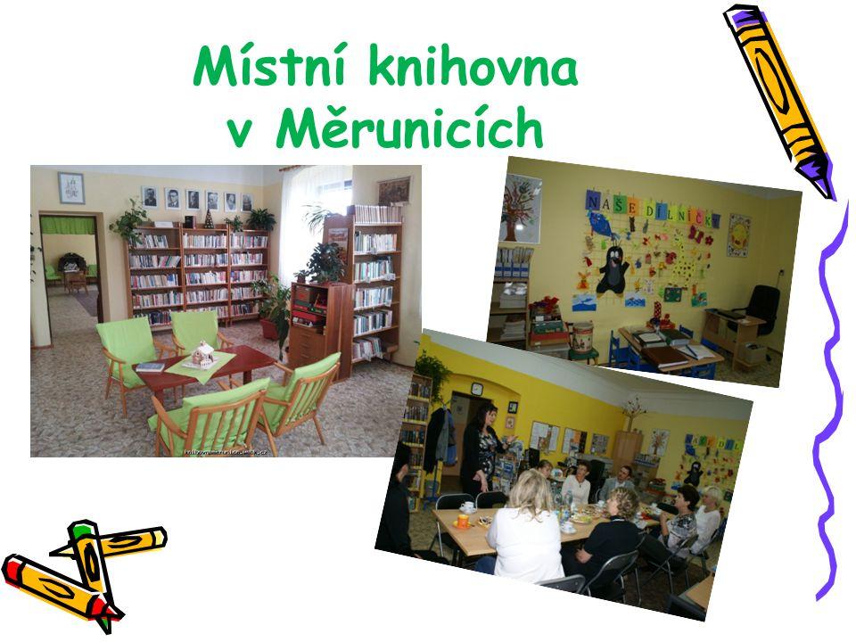 Místní knihovna v Měrunicích
