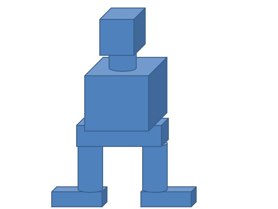 Otázky a úkoly: 1.Kolik krychlí jsi použil při první stavbě a kolik při druhé.