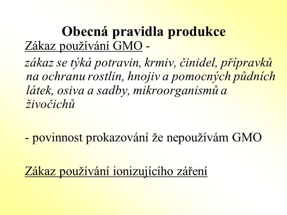 Zemědělský podnik -celý podnik je řízen v souladu s pravidly EZ -podmínkou je, že konvenčně provozovaná hospodářství musí být v každém okamžiku jasně (fyzicky) oddělená od ekologicky provozovaných hospodářství a musí o tom vést průkaznou provozní a účetní evidenci -kontrole podléhá celý podnik, tj.i konvenčně provozovaná hospodářství -zákaz souběžné produkce platí i pro přechodné období Souběžnou produkcí je pěstování stejných druhů plodin,chov stejných druhů hospodářských zvířat a skladování stejných produktů.
