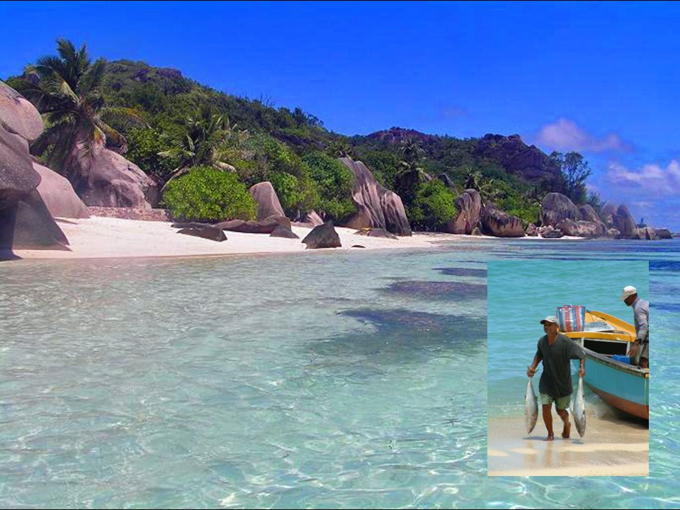 Na Seychelách je v létě o 2 hodiny více oproti středoevropskému času v létě o 2 hodiny více oproti středoevropskému času