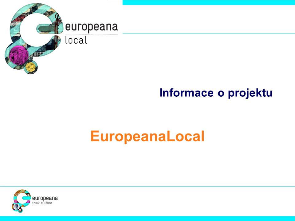 Informace o projektu EuropeanaLocal