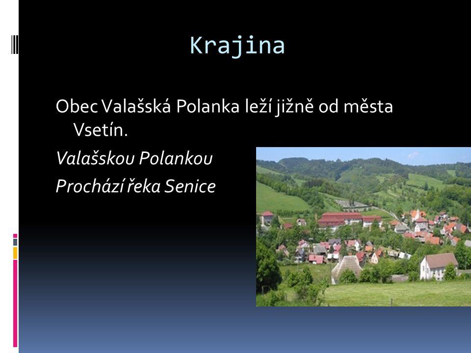  TJ Sokol Valašská Polanka Valašská Polanka má i svůj fotbaloví tým. Jsou docela úspěšní.