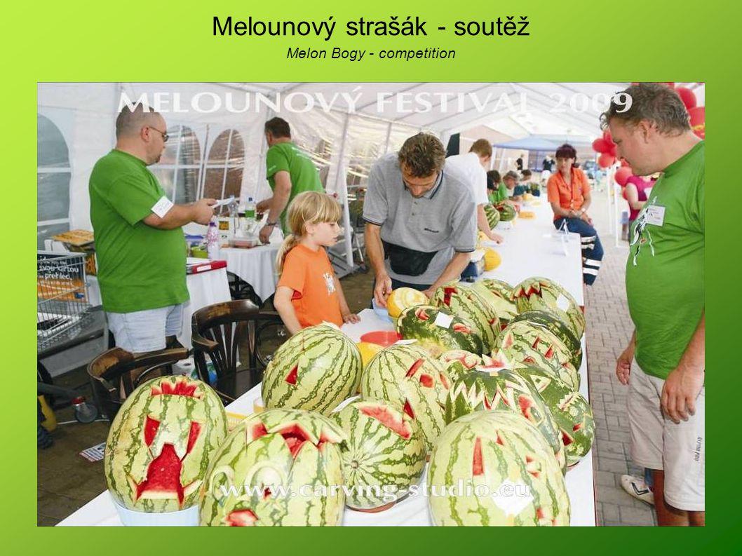 Melounový strašák - soutěž Melon Bogy - competition