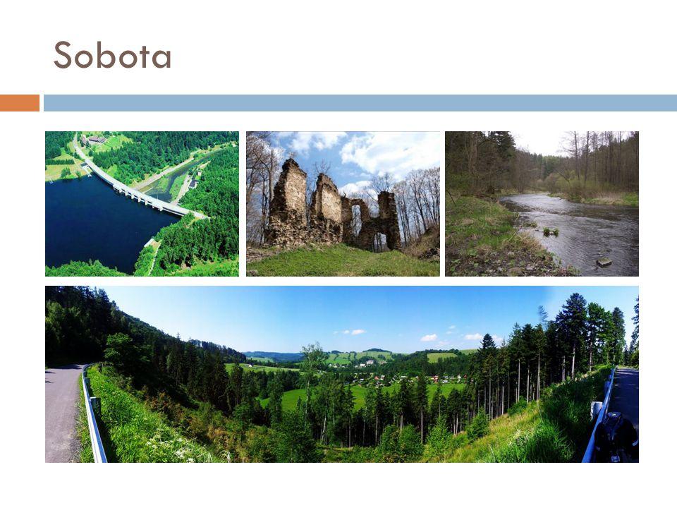 Neděle  Výlet do Litovelského Pomoraví  Horka – Litovel: 16 km pěšky, zpátky vláčkem  NATURA 2000, mokřady v nivě okolo řeky na středním toku Moravy  Litovel: renesanční radnice s 72 m vysokou věží.
