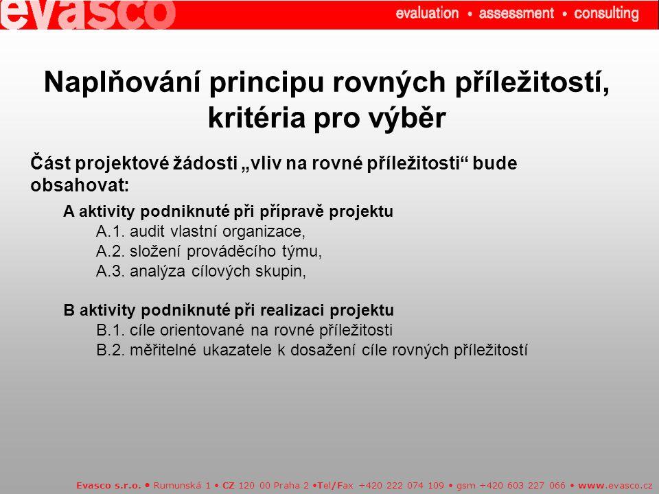 Vyvážený rozvoj regionů v OPI: Evasco s.r.o.
