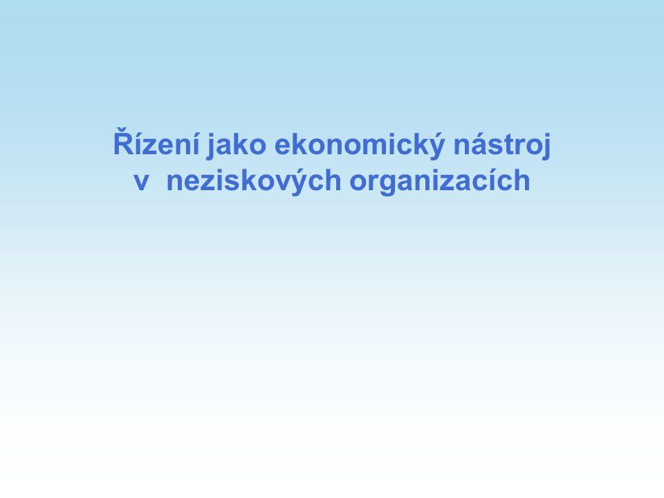 2 Osnova přednášky Vymezení pojmů řízení Faktory řízení Nástroje řízení Fundraising neziskových organizací