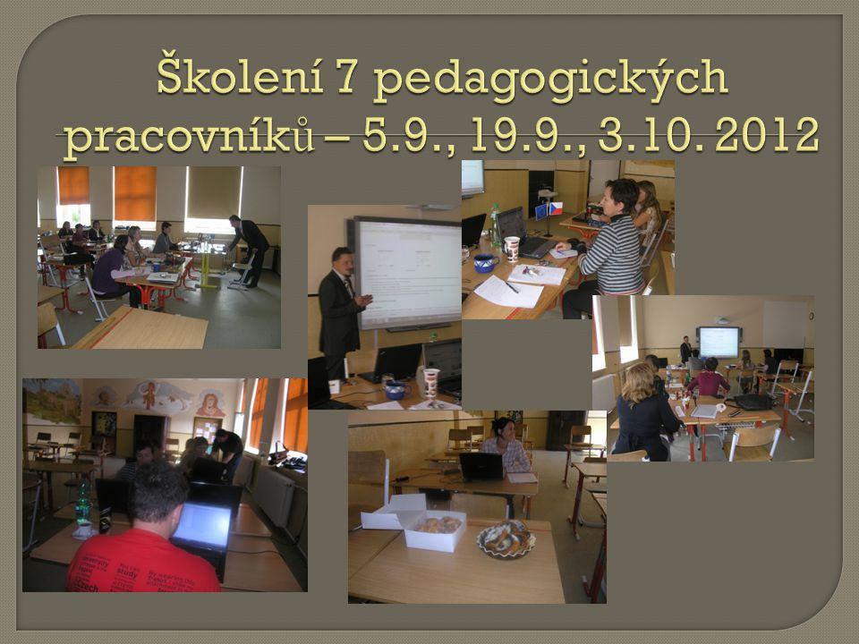 Realizace zá ž itkového programu pro ž áky 4.,6.a 8.t ř ídy - 24.-27.9. Odjezd