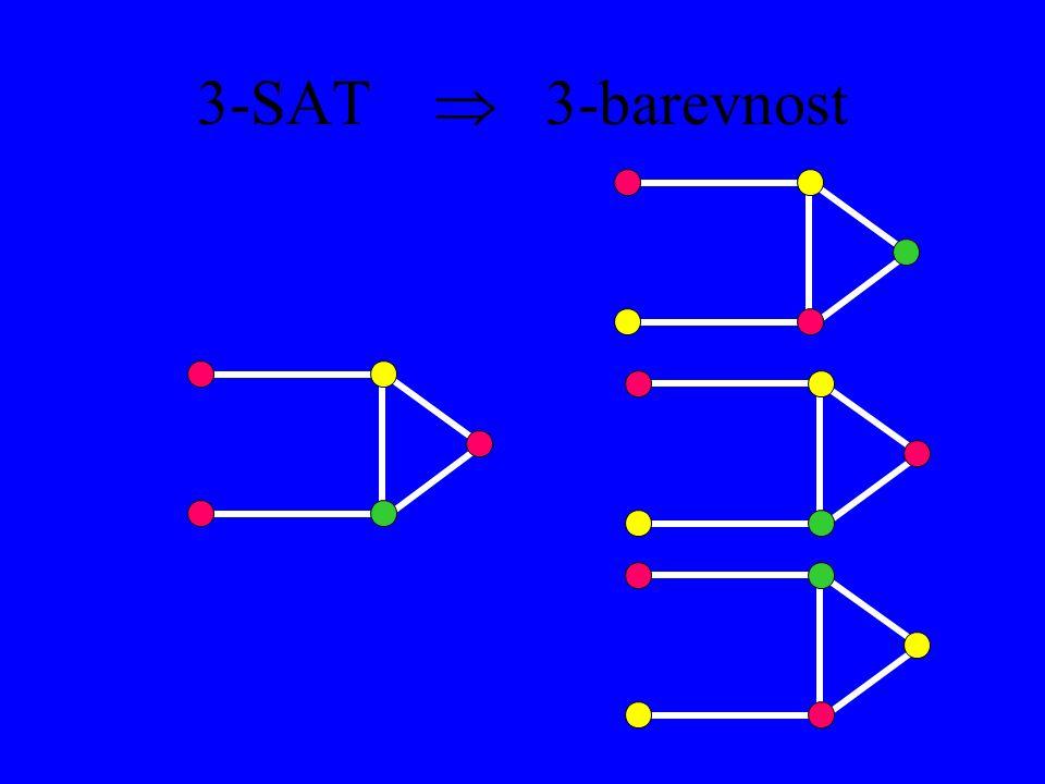 3-SAT  3-barevnost