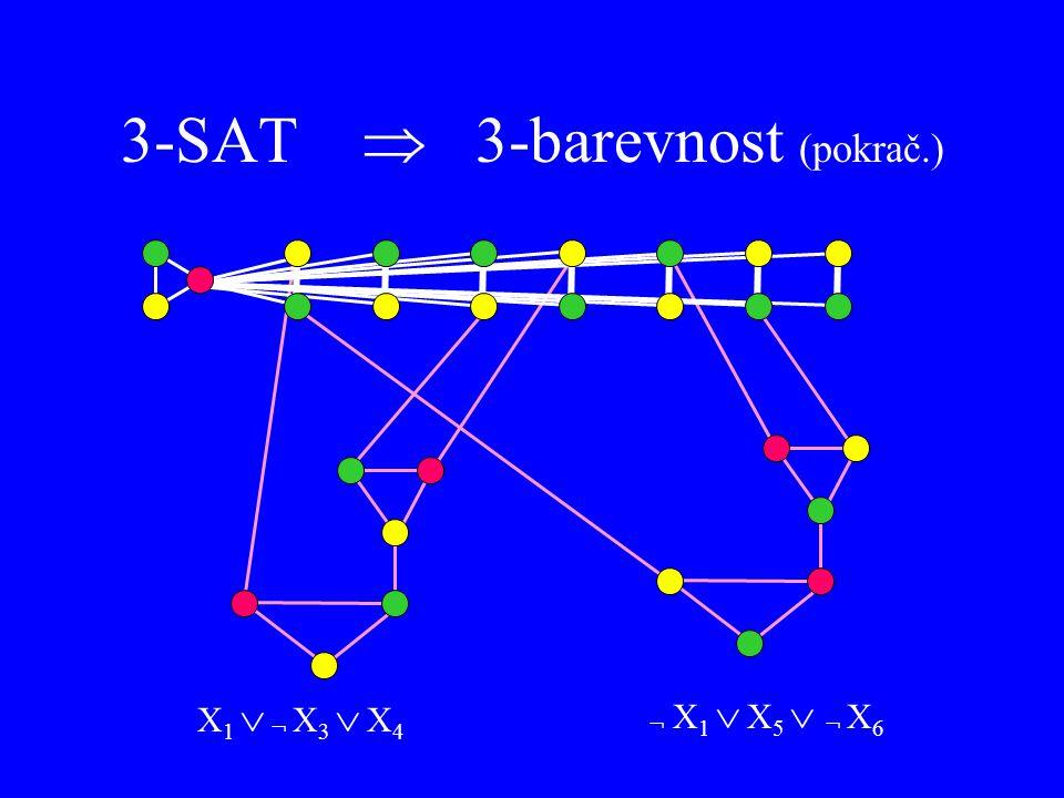 3-SAT  3-barevnost (pokrač.)