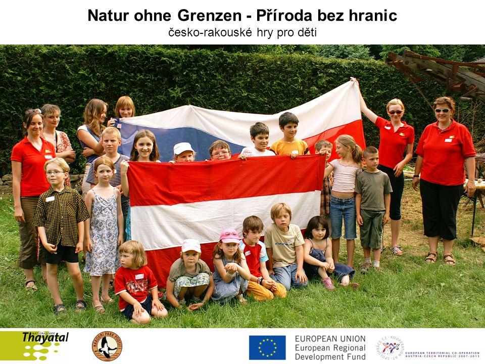 Natur ohne Grenzen - Příroda bez hranic česko-rakouské hry pro děti