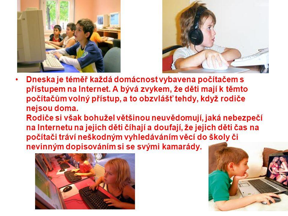 Problém kyberšikany Problémem však je, že děti a mladí lidé za těmito projevy šikanu vůbec nemusí vidět.