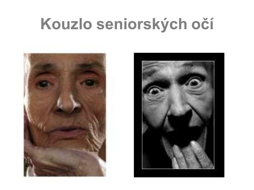Kouzlo seniorských očí
