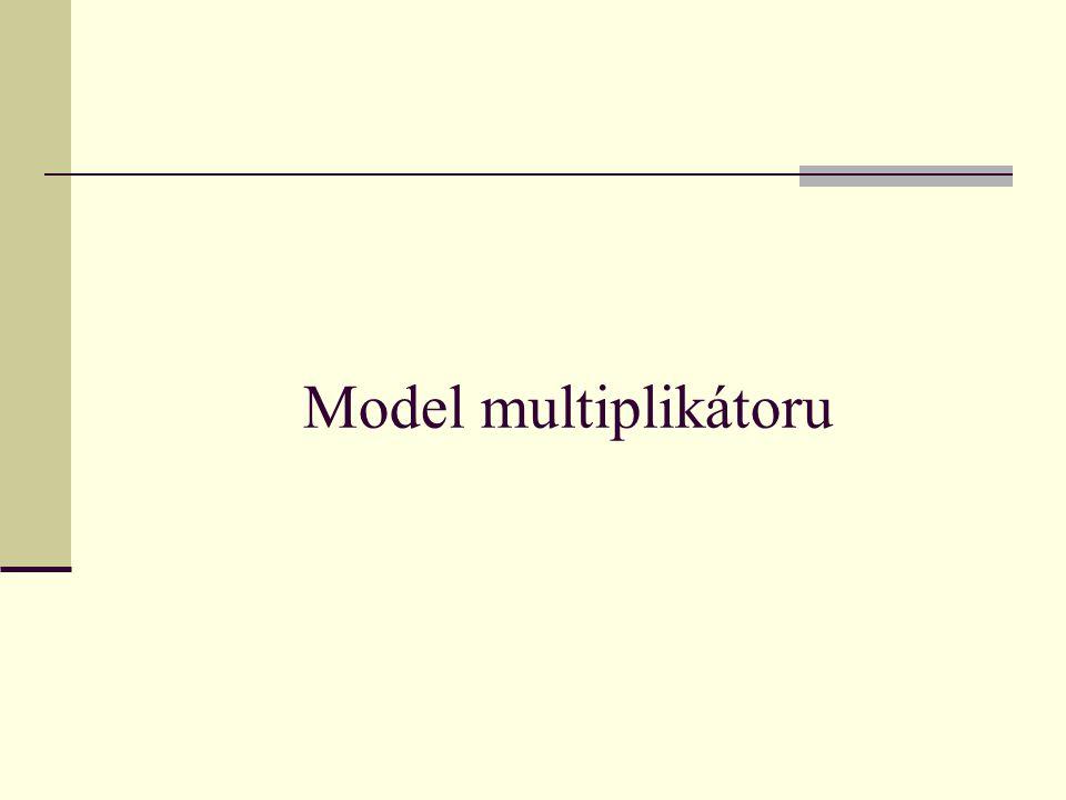 Model multiplikátoru
