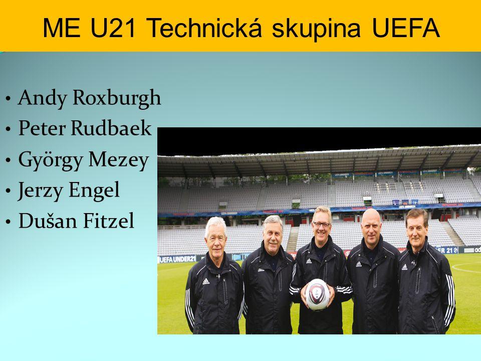 ME U21 Technická skupina UEFA Andy Roxburgh Peter Rudbaek György Mezey Jerzy Engel Dušan Fitzel