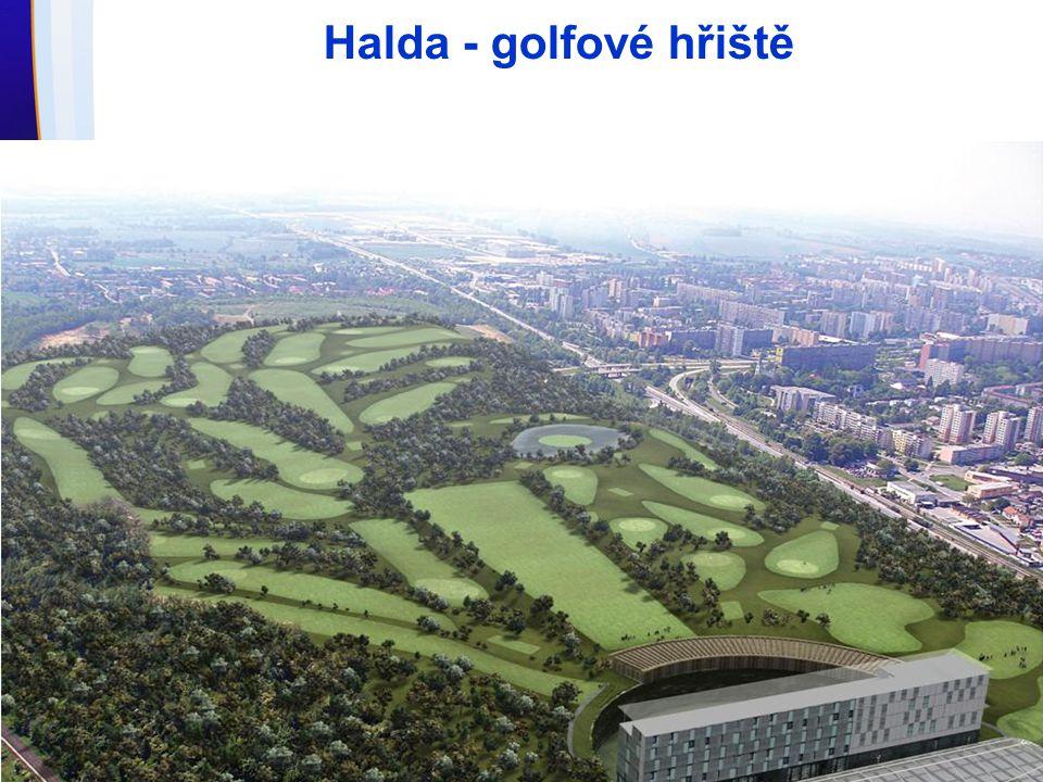 Halda - golfové hřiště