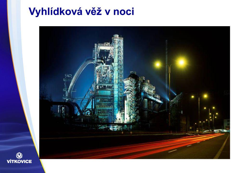 Vyhlídková věž v noci