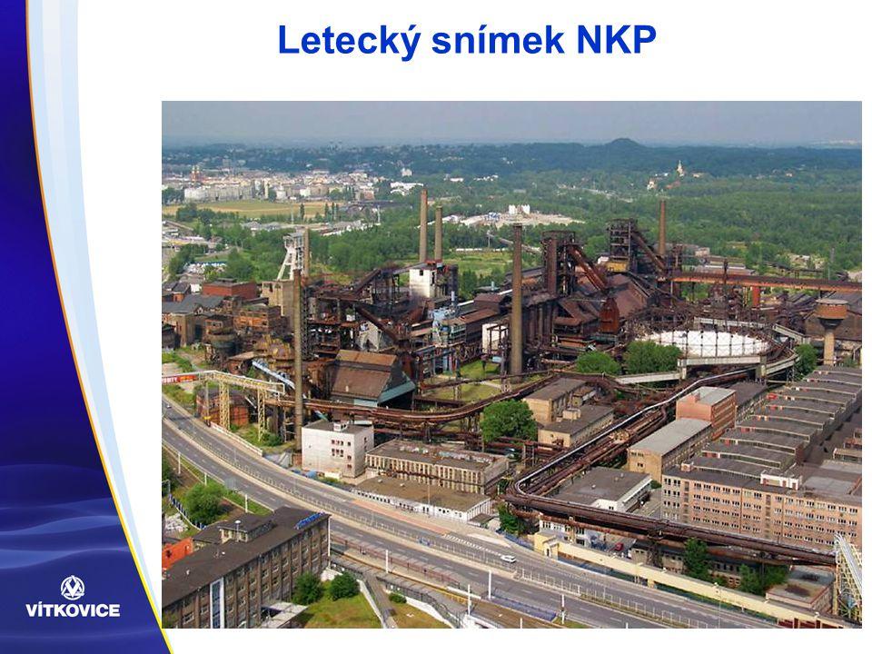 Letecký snímek NKP