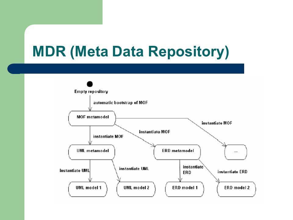 MDR (Meta Data Repository)