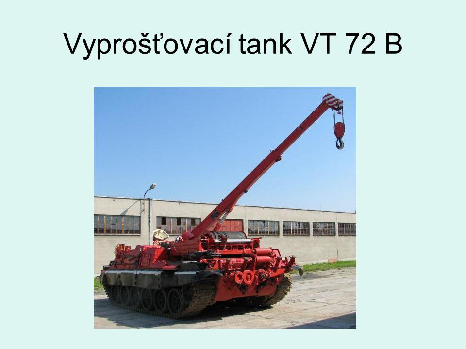 Vyprošťovací tank VT 72 B