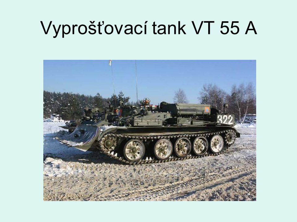 Vyprošťovací tank VT 55 A