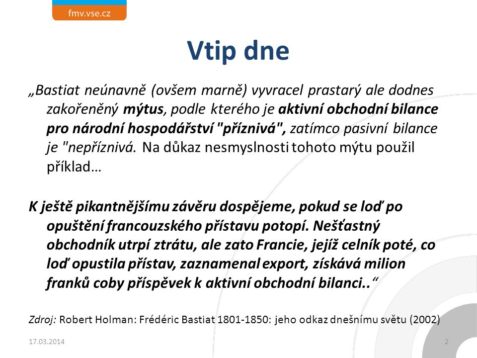 Platební bilance ČR 17.03.201433