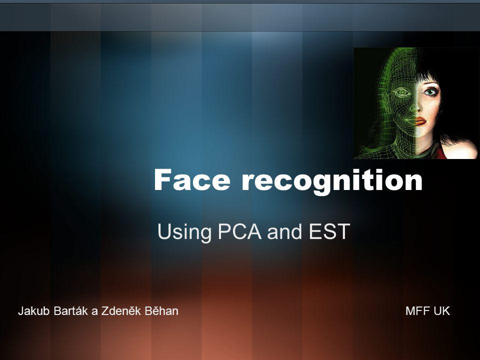 Vstupní data - summary  Máme tedy k dispozici 143 normalizovaných fotografií  Fotografie se liší ve dvou aspektech  Výrazy v obličeji (žádoucí)  Centralizace a natočení obličeje (nežádoucí)