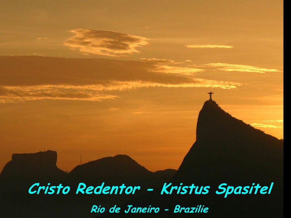Cristo Redentor - Kristus Spasitel Rio de Janeiro - Brazilie